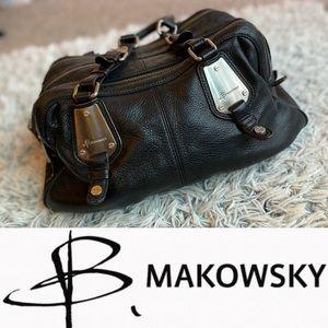 b. makowski Italian Leather handbag